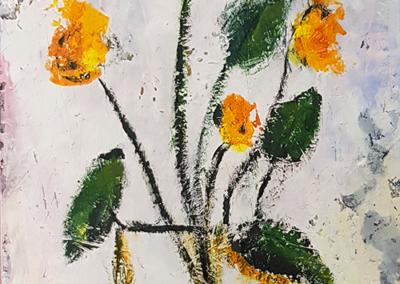Tre fiori gialli