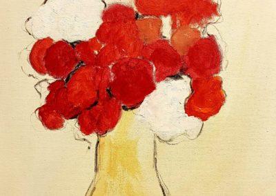 Fiori rossi e bianchi
